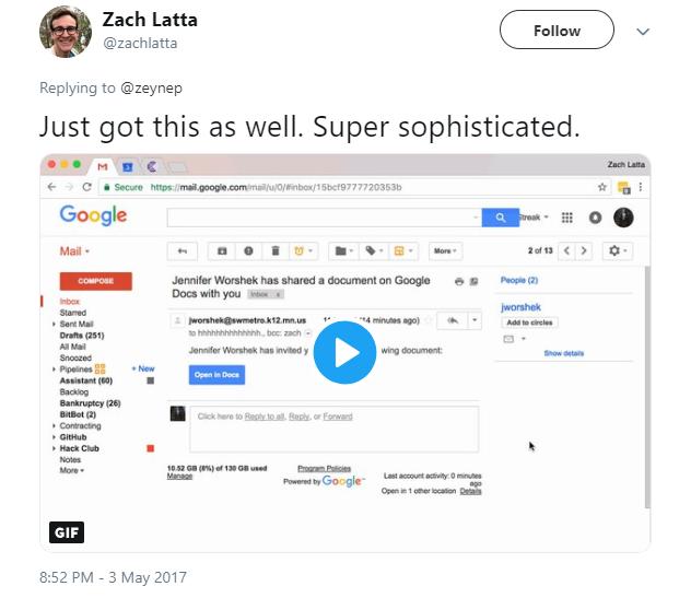 sophisticated phishing