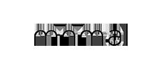 minimal client logo black white