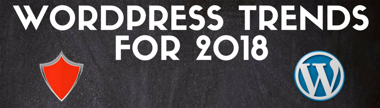 WordPress Trends for 2018