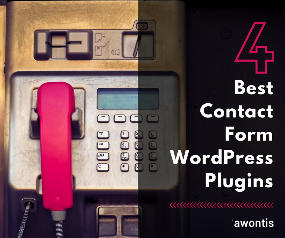 4 Best Contact Form WordPress Plugins