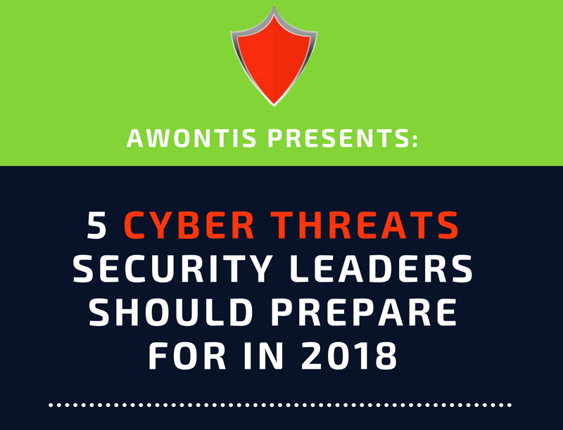 5 Cyber Threats Security Leaders Should Prepare For in 2018 (Infographic)