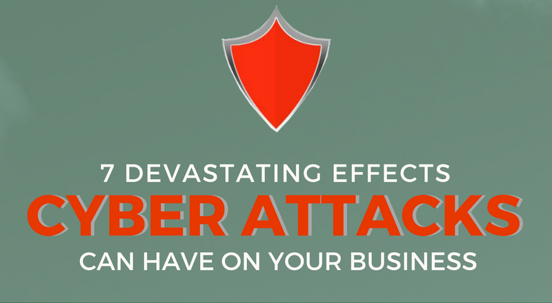7 Devastating Effects Cyber Attacks Can Have On Your Business (Infographic)