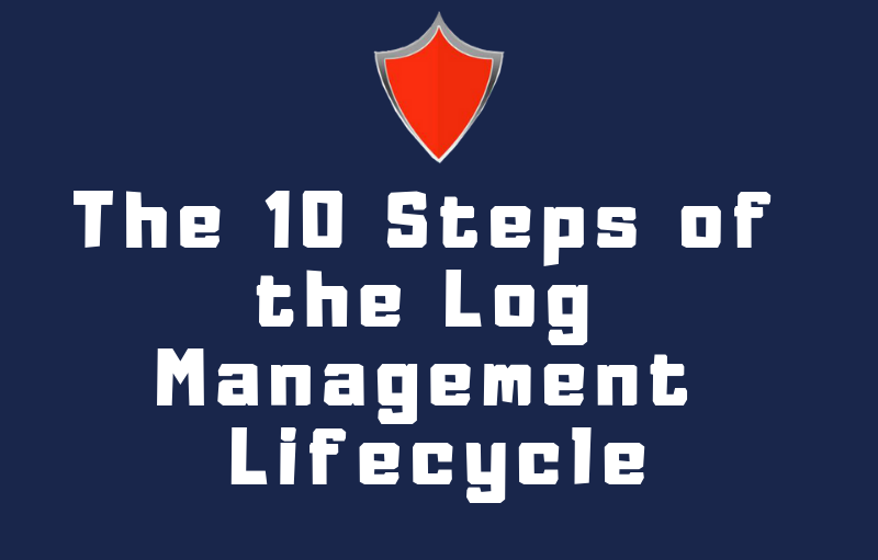 The 10 Steps of the Log Management Lifecycle (Infographic)
