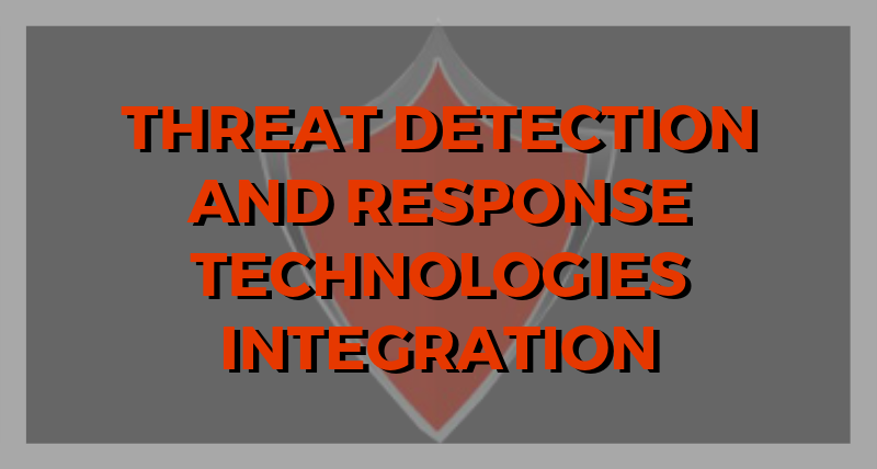Threat Detection and Response Technologies Integration (Infographic)